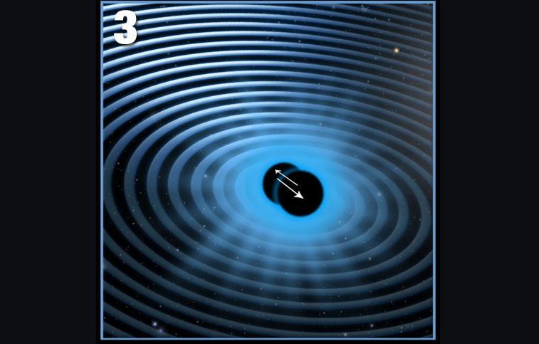 Галактика 3C186 «выпнула» свою сверхмассивную черную дыру